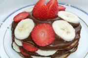 Csokikrémes Banáncsinta (Glutén, laktóz és cukormentes)