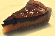 Csupa csoki karamellás torta